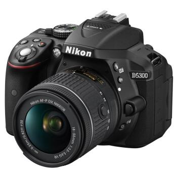 尼康(Nikon) D5300 单反双头套机(AF-P DX 18-55mm f/3.5-5.6G VR镜头 + DX 55-300mm f/4.5-5.6G镜头)