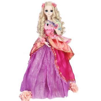 精灵梦叶罗丽娃娃新人物灵公主女孩仿真娃娃玩具改妆娃娃衣服60cm