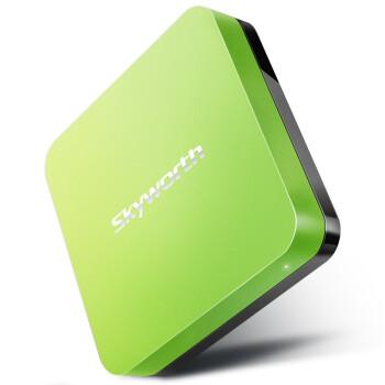 创维(Skyworth)i71S 4K超清盒子 四核 网络电视机顶盒 安卓智能高清播放器 绿色