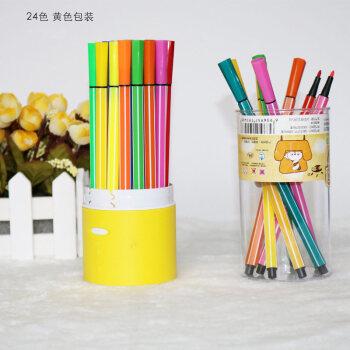 古尚古慧眼水彩笔36色彩笔儿童幼儿园彩色笔画画笔可水洗涂鸦彩笔套装