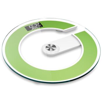 禾诗(Heth) CG1电子称体重秤家用称重电子秤人体秤精准健康成人减肥体重计器 草绿色
