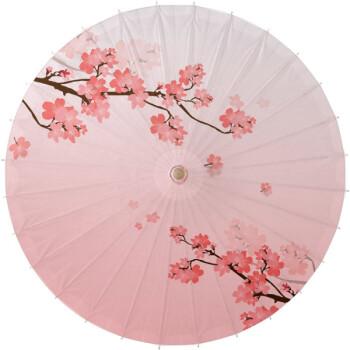 油纸伞古典防雨防晒传统实用江南舞蹈古风道具装饰拍照中国风雨伞 粉