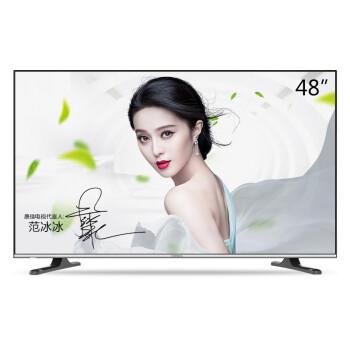 康佳(KONKA)LED48U60 48英寸 优酷电视梦想版8核微联智能电视 京东微联超级APP控制(黑+银)