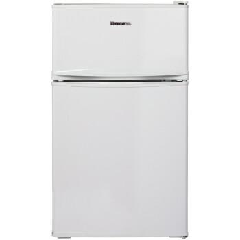 奥马(homa)BCD-85 85升 家用冷藏冷冻 两门小电冰箱(白色)