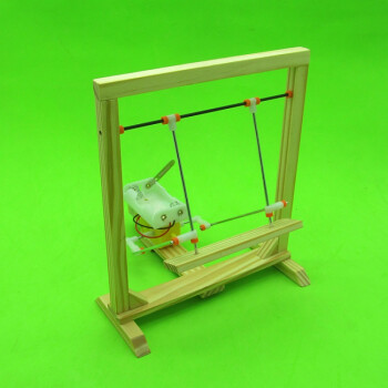 diy科技小制作电动机械秋千科技小发明科学手工实验材料拼装模型 材料图片