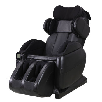 春天印象(SMC)Y8按摩椅全身家用电动太空舱按摩椅 爵士黑