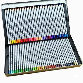 马可 专业美术油性彩铅 高级绘画彩色铅笔 7100 TN铁盒装/CB纸盒装可选 7100-72TN 铁盒72色