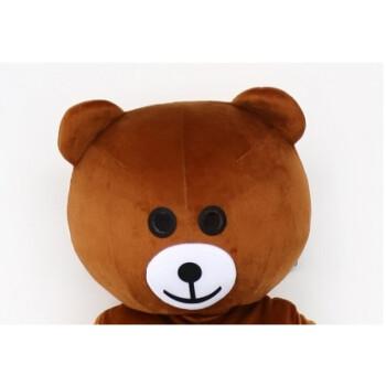 柏轩阁网红熊装人偶服装熊本熊卡通玩偶服抖音熊传单图片