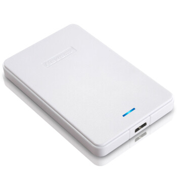 纽曼(Newsmy)星云 1TB 液压平衡滚轴系统 防震 安全 稳定 快速 2.5寸 USB3.0 纤薄 移动硬盘 皓月白