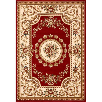 欧式地毯客厅茶几卧室床边垫满铺简约现代美式中式长方形防滑地毯 jd