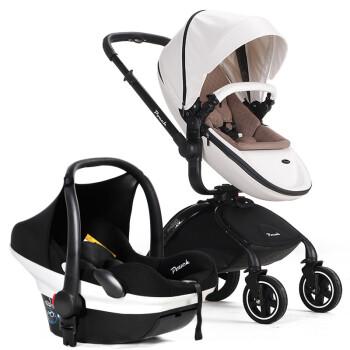 pouch时尚宝宝车手推车童车婴儿推车玛莎+安全提篮