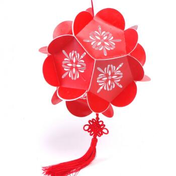 8折3件7折中秋节传统2018儿童手工灯笼制作diy材料包手提发光玩具绣球