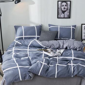 百富帝(byford)法兰绒床上四件套冬天加厚保暖套件珊瑚绒床单家纺被套200*230 风格