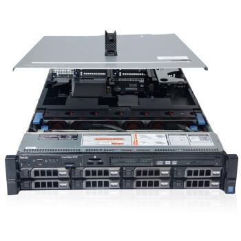 戴尔(DELL)R730服务器 2U机架式主机箱(8盘位)热插拔  E5-2620V3+750W   16G*2+4T SAS*4
