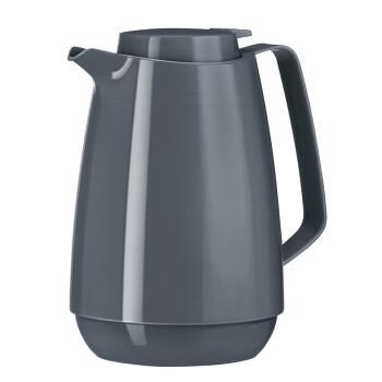 德国爱慕莎(emsa)保冷保温壶家用保温瓶热水瓶暖水瓶玻璃内胆回想灰色1L