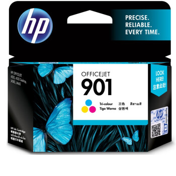 惠普(HP)CC656AA 901号彩色墨盒(适用HP Officejet J4580 J4660 4500)