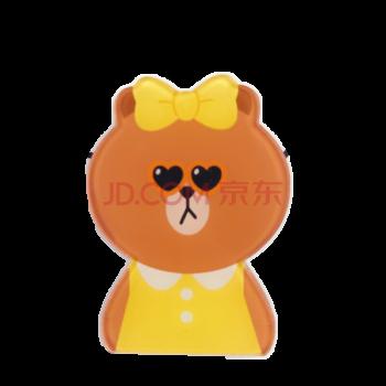 小棕熊冰箱贴卡通可爱小兔磁铁磁贴 韩国表情强力吸铁石留言贴 酷熊妹