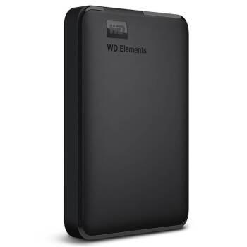 西部数据(WD)Elements新元素 移动硬盘1t/500g/2t/3t/4t/5t 西数硬盘 4TB(WDBU6Y0