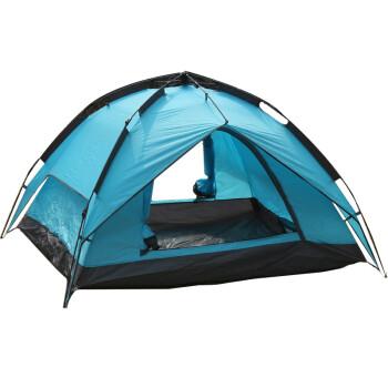 米密尔速开露营帐篷全自动户外露营双层防风防雨帐篷免搭速建1-2人