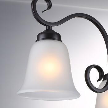 欧普照明(OPPLE)客厅餐厅美式吊灯欧式吊线灯创意个性灯具北欧卧室灯具--E27光源另购