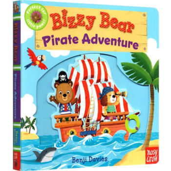 《Bizzy Bear: Pirate Adventure [Board Books] 英文原版》(