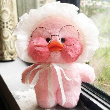 粉色系ins鸭子手绘
