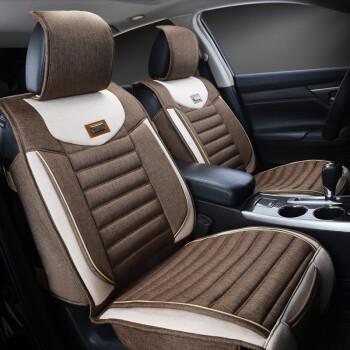 热途坐垫全包四季通用亚麻汽车雅阁CRV本田比亚迪e5450和秦450图片