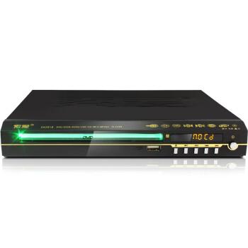 索爱(soaiy)2018H DVD播放机 HDMI高清播放机dvd影碟机VCD播放机(黑色)