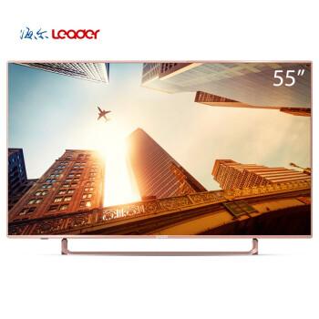 统帅(Leader)D55C 55英寸安卓智能网络金属一体成型全高清LED液晶电视(浅玫瑰金)