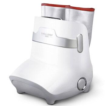 迪斯按摩器 腿部足部一体美腿机DE-F16 足疗机气压加热按摩美足宝美腿按摩仪 魅力银