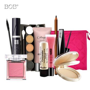 韩国BOB彩妆套装全套组合9件套初学者淡妆化妆品美妆 裸妆美容工具套装