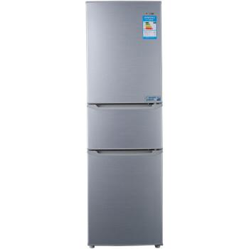 格兰仕(Galanz) BCD-220TS 220L三门冰箱(拉丝银)