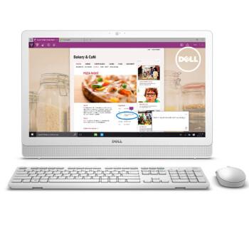 戴尔(DELL)Inspiron 3459-R1848W 23.8英寸一体机电脑 ( i3-6100U 4G 1T 2G独显 三年上门 Win10)白