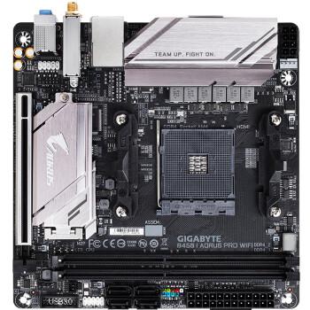技嘉(GIGABYTE)B450 I AORUS PRO WIFI 主板 (AMD B450/Socket AM4)