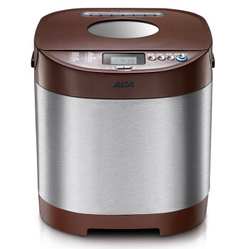 北美电器(ACA)面包机全自动家用 304不锈钢机身AB-SN6513N