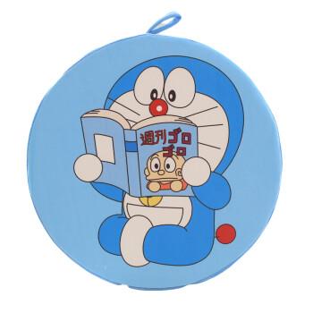 梦缘毛绒玩具叮当猫椅子坐垫可爱机器猫加厚靠垫可拆洗圆形哆啦a梦