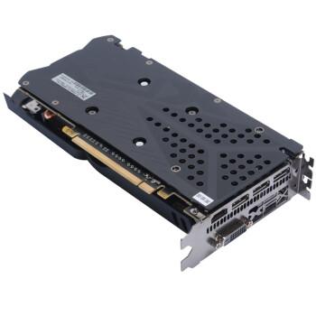讯景(XFX) RX580 2048SP 8G 黑狼版 双风扇散热台式机电脑游戏显卡骨灰玩家高端显卡 讯景RX580 2