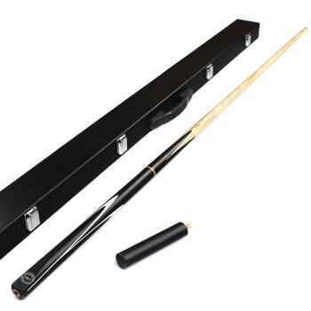 正品HIBOY CUE 台球杆黑8套装斯诺克美式黑八小头16桌球杆用品 杆桶套装-铜头