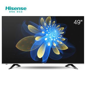 海信(Hisense)LED49EC320A 49英寸丰富影视 智能电视(黑高光套香槟灰)