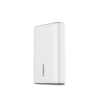 品勝(PISEN) 品勝/Pisen充電寶備電10000毫安移動電源 2A輸出快速充電超薄小巧 便攜 5C-白,降價幅度14.5%
