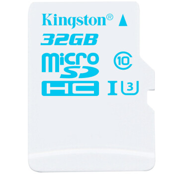 金士顿(Kingston)32GB 90MB/s TF(Micro SD)Class10 UHS-I U3高速存储卡