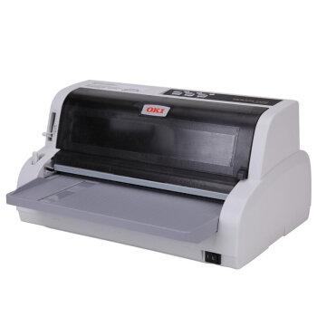 OKI 5920F税控针式打印机 快递单打印机 连打平推票据 营改增发票打印 官方标配USB接口