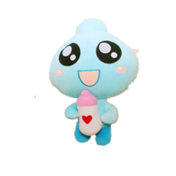 奶瓶仔创意公仔可爱布娃娃玩偶靠枕毛绒玩具女儿童生日礼物萌萌感动