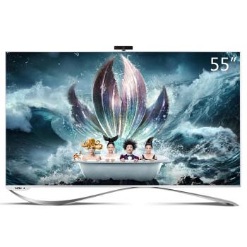 乐视超级电视 第3代X55(X3-55)55英寸4K智能LED液晶 (标配挂架 L553L1或L553C1)