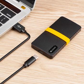 柯达(Kodak)1TB Type-c USB3.1移动固态硬盘(PSSD)X200 读速高达500MB/s  轻薄便携