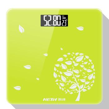 禾诗(Heth)HS-C22电子秤人体秤电子称体重秤家用体重计人体健康秤 幸福树