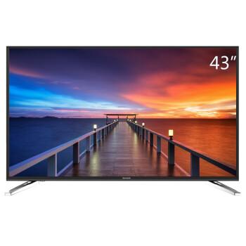 创维(Skyworth)43M6 43英寸 4K超高清智能酷开网络液晶电视(黑色)