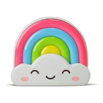 得利来彩虹小夜灯睡眠床头灯卧室插电夜晚灯可选遥控光控婴儿喂奶灯 彩虹灯 遥控版