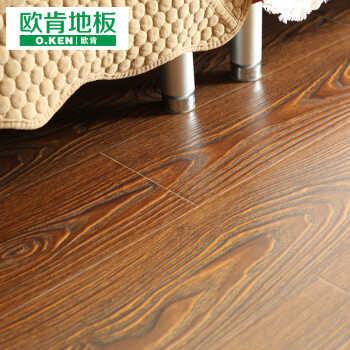 ken地板 强化复合浮雕木地板 奢华同步纹地暖地热经典防潮防水专用