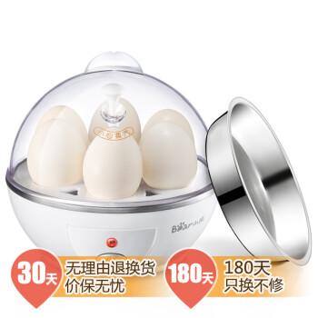 小熊(Bear) ZDQ-206 煮蛋器 6个蛋容(可蒸水蛋)(白色)